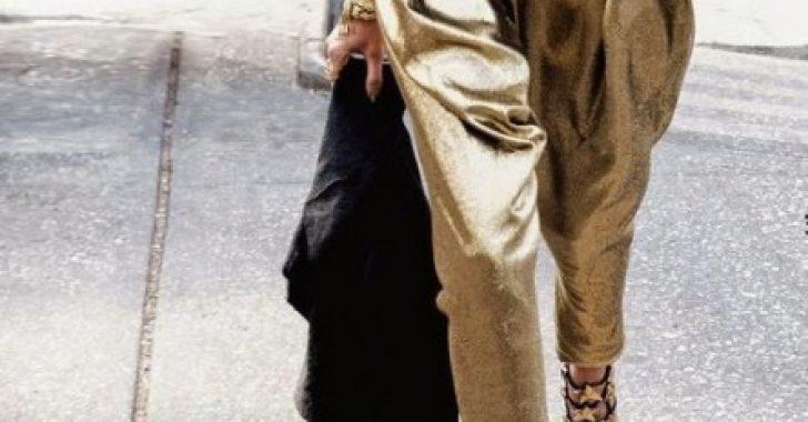 Harem Şalvar Pantolon Modelleri ve Kombinleri