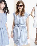 Keten Elbise Modelleri 2018-2019