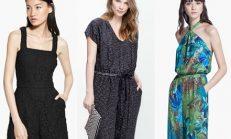 Mango 2015 yaz tulum elbise modelleri
