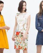 2018-2019 İlkbahar Yaz Zara Yazlık Elbise Modelleri