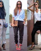 2018-2019 Pantolon Modası: Jogger Pantolon Kombinleri