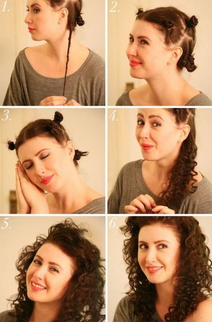 kıvırcık saçlar
