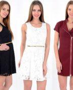 Yazlık Kısa Elbise Modelleri 2018-2019