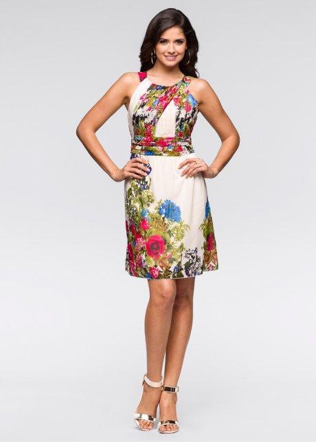 33114f2197e16 Çiçek baskılı kısa yazlık elbise modelleri - Kadinlive.com