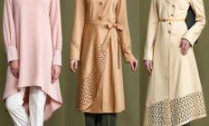 İlkbahar Yaz Tesettür Modası: İşbilir Pardesü Modelleri 2018-2019