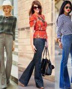 İspanyol paça pantolon nasıl giyilir?