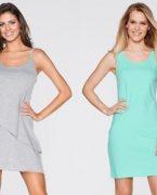 Yazlık Askılı Kısa Elbise Modelleri 2018-2019