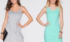 Askılı yazlık kısa elbise modelleri