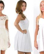 Yazlık Beyaz Elbise Modelleri 2018-2019