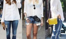 Trend Alarmı: Beyaz Gömlek Kombinleri