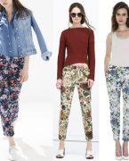 Desenli şık pantolonlar çok moda