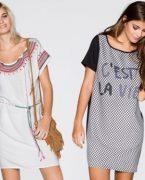 2019 Yazlık Kısa Kollu Elbise Modelleri