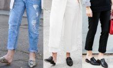 Moda trendi: Sivri burunlu terlikler