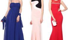 Tozlu en şık abiye elbise modelleri