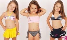 Kız Çocukları için Mayo ve Bikini Modelleri 2018-2019