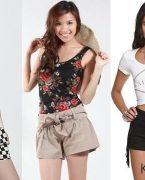 Yazlık en şık bayan şort modelleri