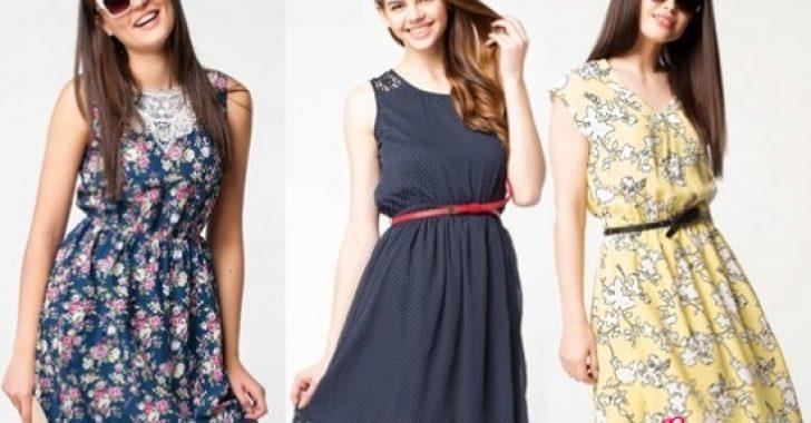 İlkbahar Yaz DeFacto Günlük Elbise Modelleri 2018-2019