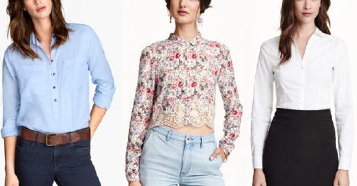 İlkbahar Yaz Modası: H&M Bayan Gömlek Modelleri 2018-2019