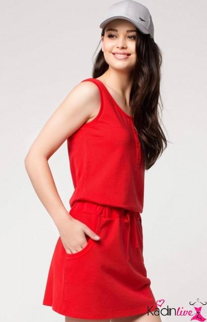 4afcff3f21eab Kırmızı kadın spor elbise modelleri - Kadinlive.com