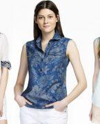 Mudo şık bayan gömlek modelleri
