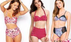 2018-2019 Yaz Plaj Modası: Yüksek Belli Bikini Modelleri
