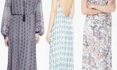 Yazlık Şık Uzun Elbise Modelleri 2018-2019
