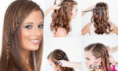 Şelale Saç Örgüsü Modeli, Nasıl Yapılır?