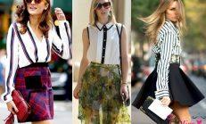 Trend Yazlık Şifon Gömlek Modelleri