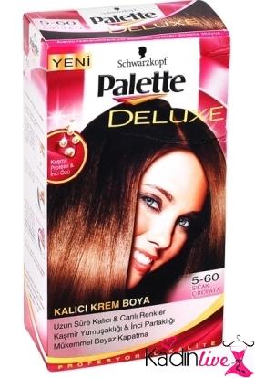 Palette 5,60 sıcak çikolata saç renkleri