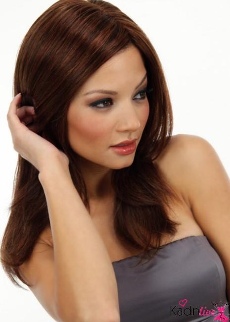 Sıcak çikolata Saç Rengi Ve Modelleri Kadinlivecom