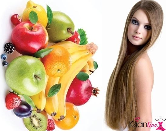 Saçları hangi meyveler uzatır