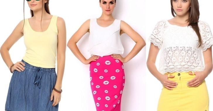 İlkbahar Yaz Tozlu Giyim Etek Modelleri 2018-2019