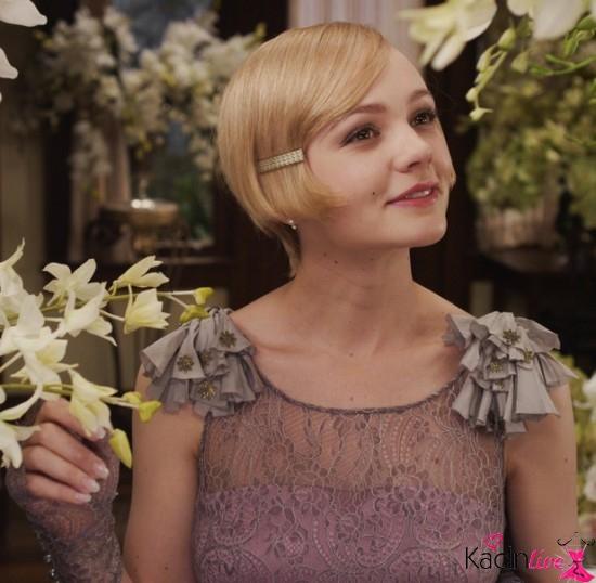 Yılbaşı gecesi gatsby parti saçları