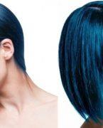 Mavi Siyah Saç Rengi Hangi Tene ve Kime Yakışır?