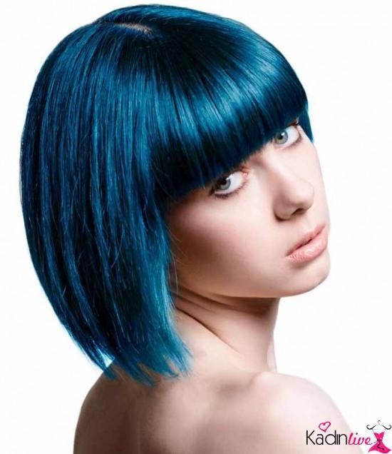 Mavi Siyah Saç Rengi Hangi Tene Ve Kime Yakışır Kadinlivecom