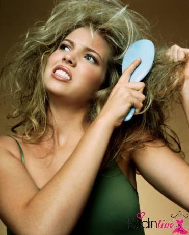 kabarık saç sorunları