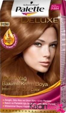 Yoğun Altın Karamel Saç Rengi Palette Deluxe Kadinlivecom