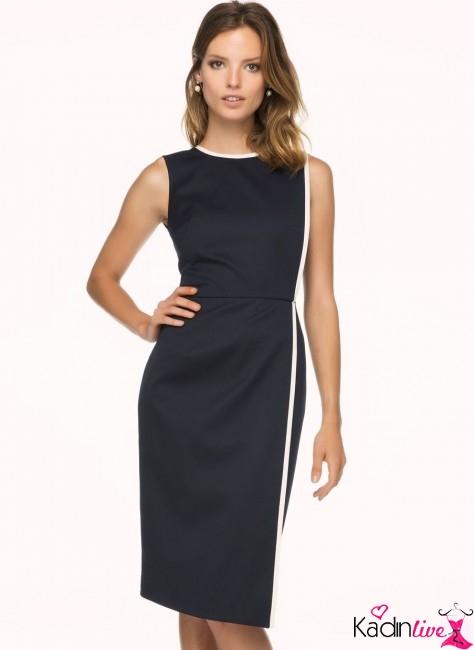 2019-2019 İlkbahar Yaz: Omzu (Açık) Dekolteli Elbise Modelleri 72