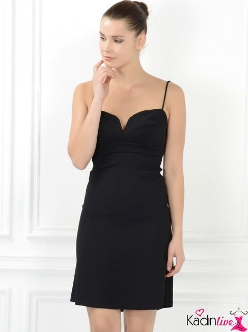 057d8c3beacee Adil Işık İnce Askılı Siyah Gece Abiye Elbise Modelleri - Kadinlive.com