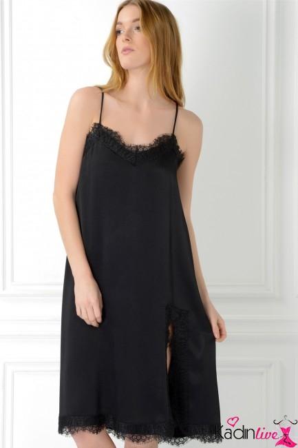 Adil Işık Dantelli Garnili Abiye Elbise Modelleri