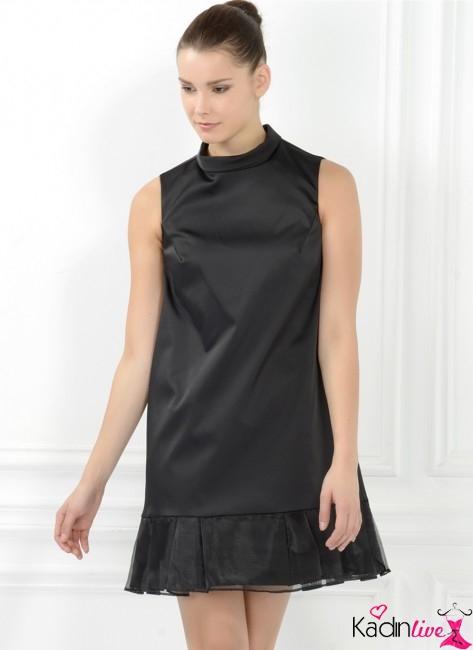 Adil Işık Eteği Fırfırlı Abiye Gece Elbisesi Modelleri