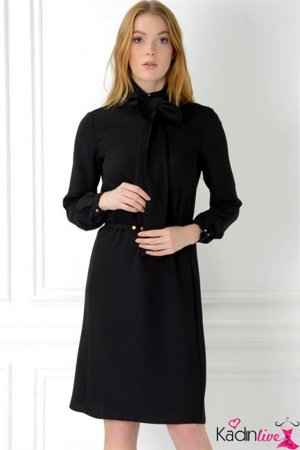 Adil Işık Fularlı Kısa Abiye Elbise Modelleri