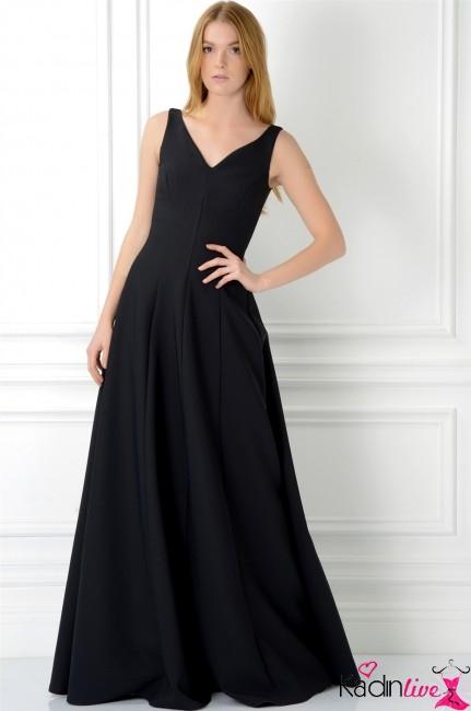 2222d52bd2101 Adil Işık Kruvaze Yırtmaçlı Abiye Elbise Modelleri - Kadinlive.com