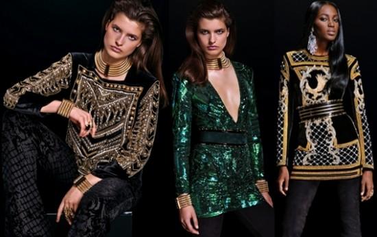 Balmain x H&M Kıyafet Koleksiyonu