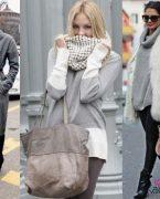 Sonbahar Kış Modası Gri Kıyafet Kombinleri 2018-2019
