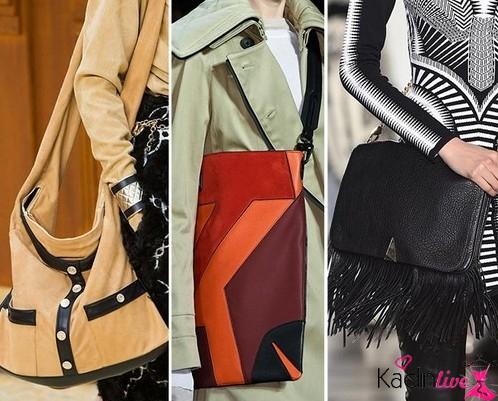 Kış Modası Büyük Çapraz Postacı Çanta Trendleri
