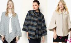 2018-2019 Sonbahar Kış Modası: Pelerin Ceket Modelleri