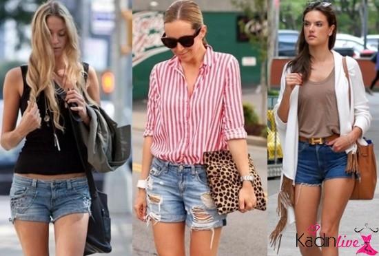 6249784c32554 Kot şortlar 2018-2019 ilkbahar yaz modasının en trend, en popüler giyim  parçaları arasında ...
