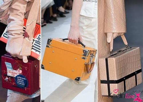 Sonbahar Kış Trendleri Kutu Çantalar