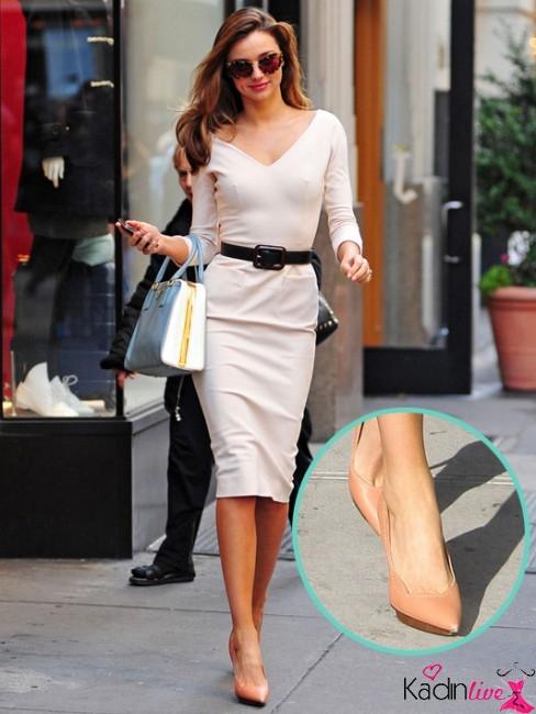 Miranda Kerr ayakkabı